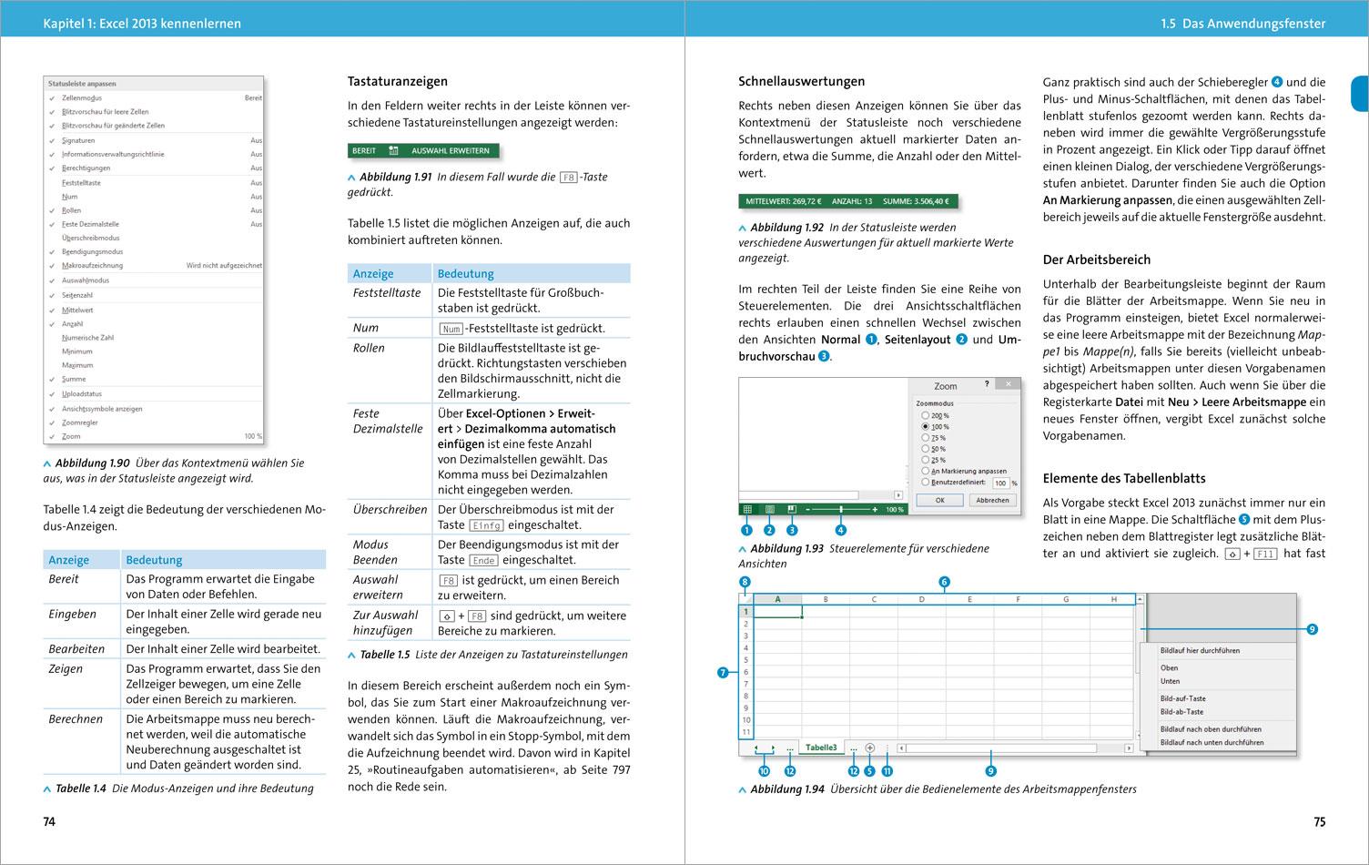 Excel kennenlernen