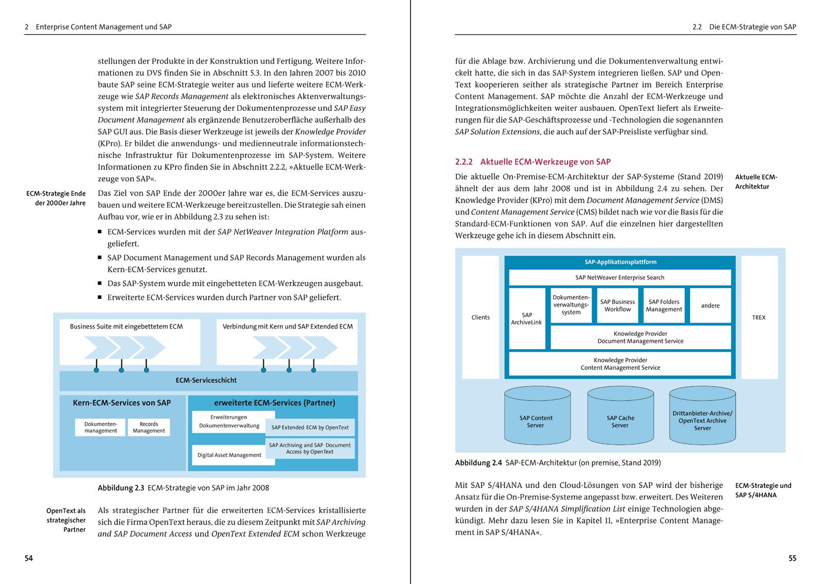 Enterprise Content Management mit SAP