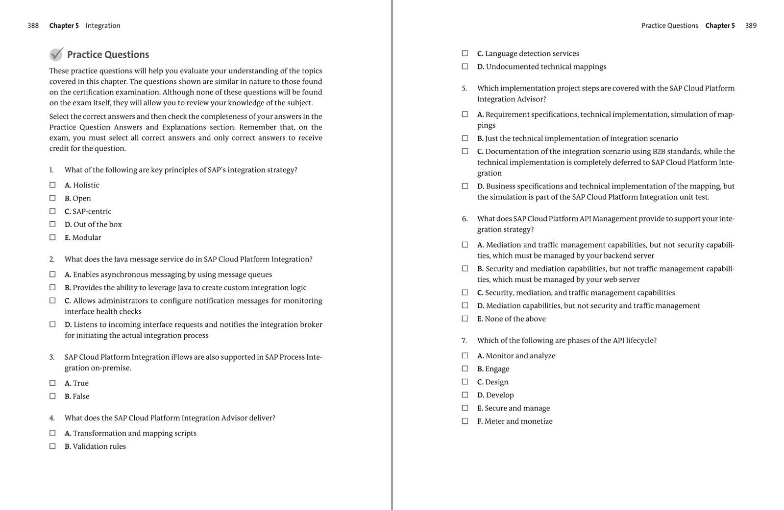 SAP Cloud Platform Certification Guide - Development Associate Exam