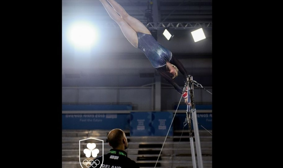 Emma On Bars