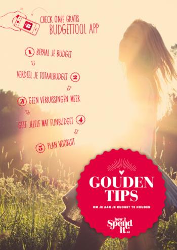 Gouden tips om je aan je budget te houden