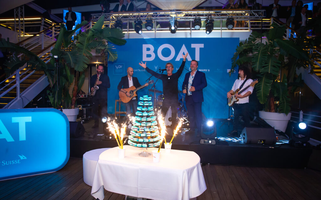 H2 celebrate 25 years at the Monaco yacht show