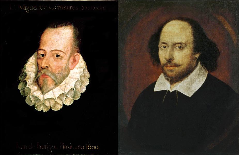 Cervantes y Shakespeare no murieron el mismo día