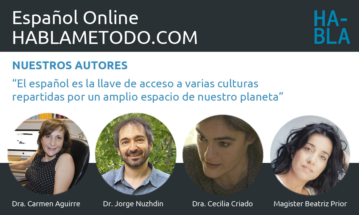 autores del curso de español online HABLA