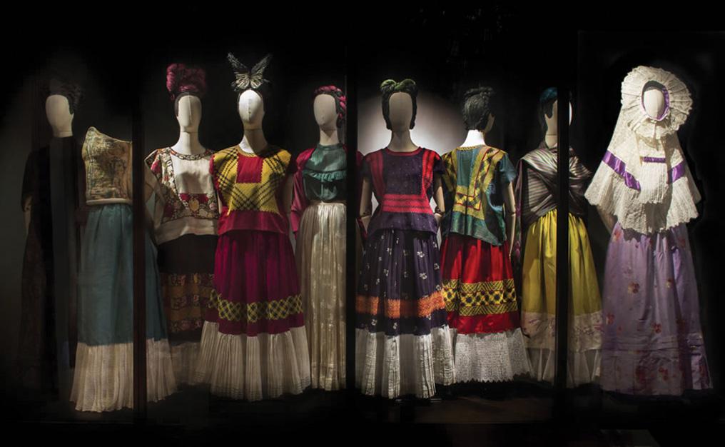 La manera de vestir de Frida Kahlo tenía una motivación política