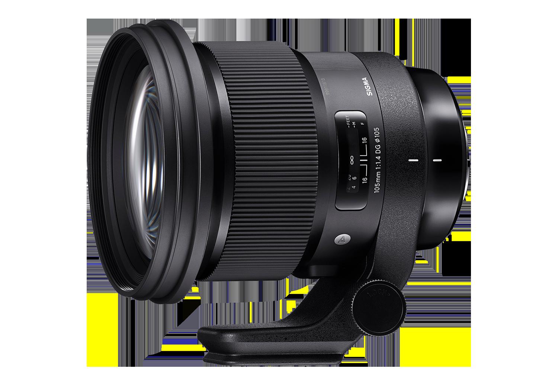 Sigma 105mm Art lens hire