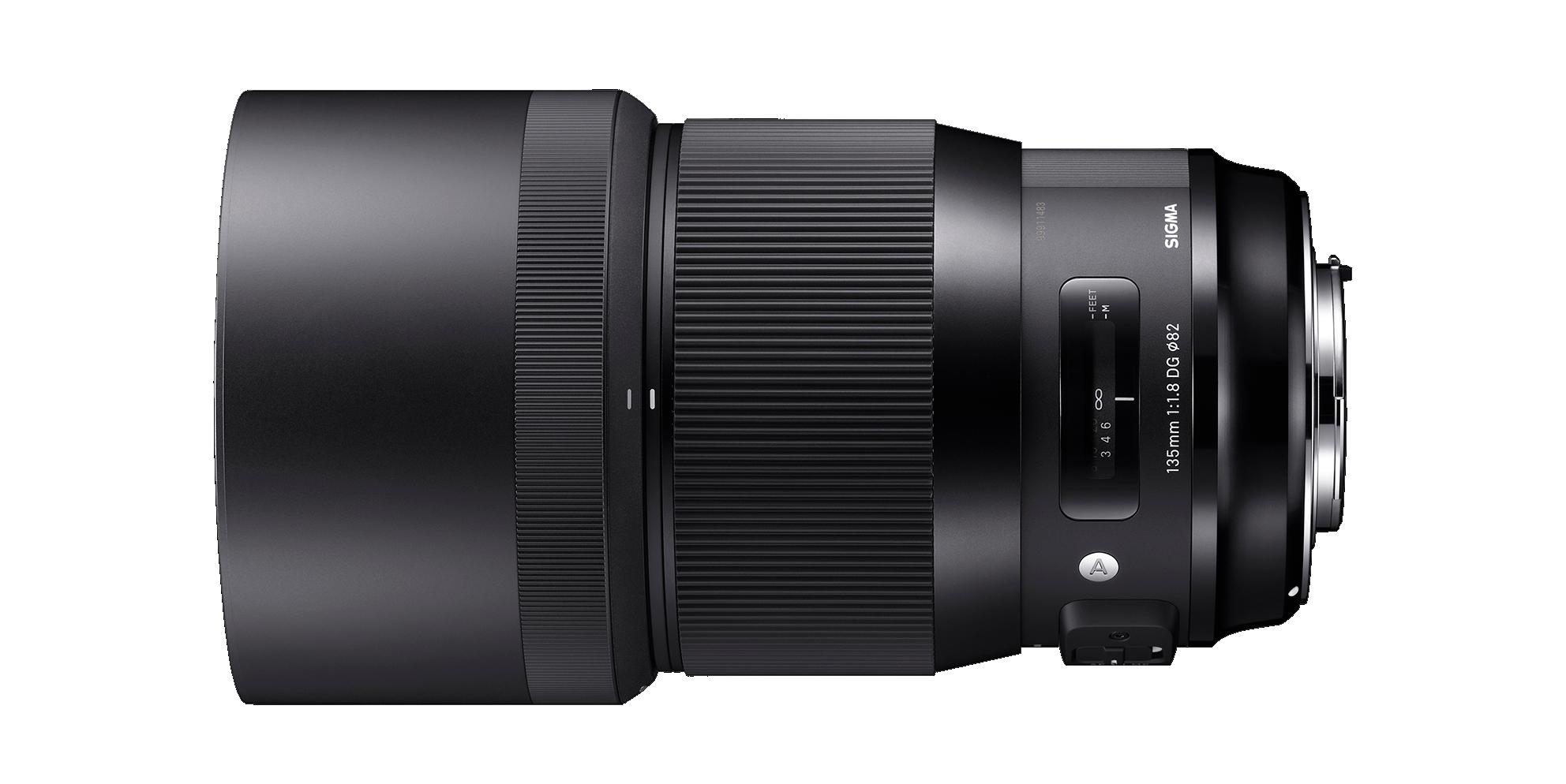 Sigma 135mm Art lens hire