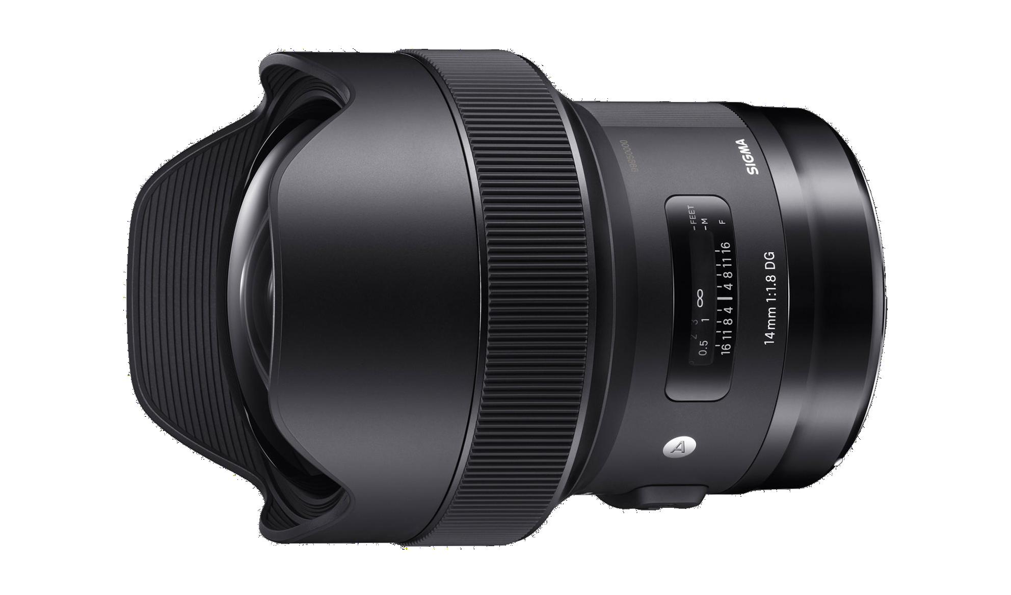 Sigma 14mm Art lens hire