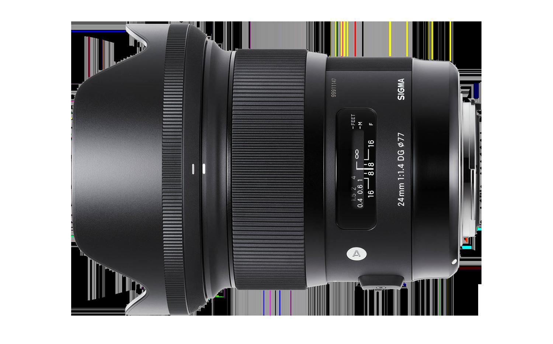 Sigma 24mm Art lens hire