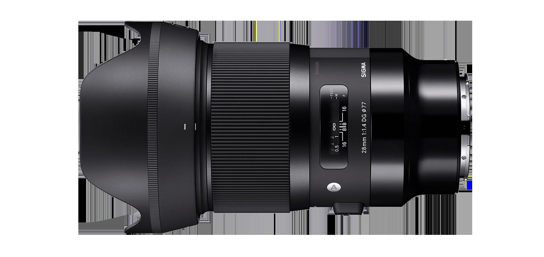 Sigma 28mm Art lens hire