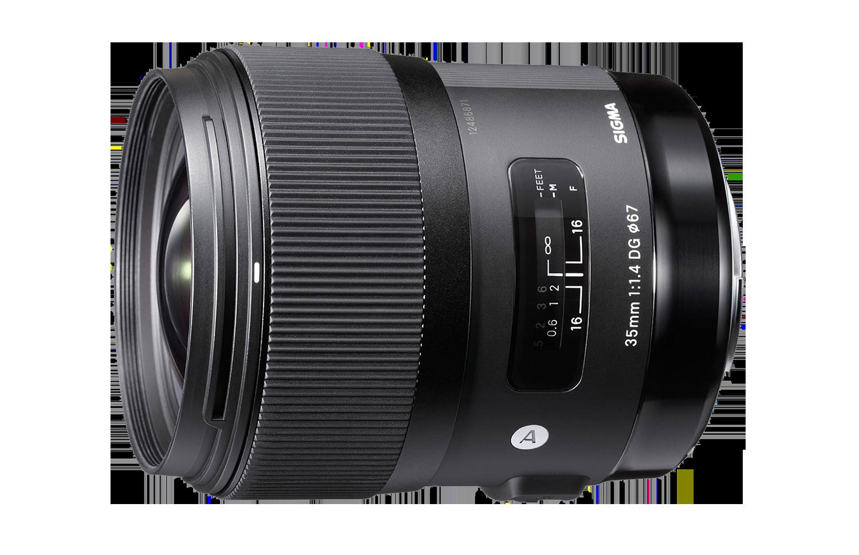 Sigma 35mm Art lens hire