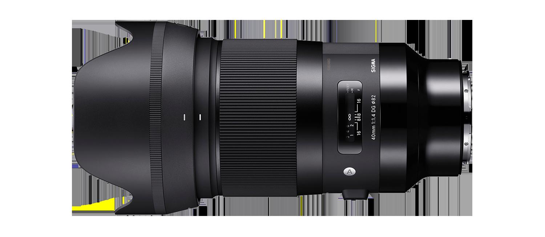 Sigma 40mm Art lens hire