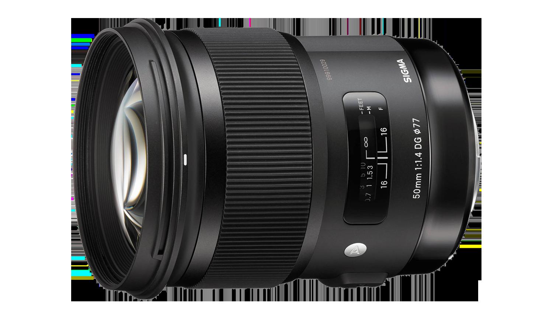 Sigma 50mm Art lens hire