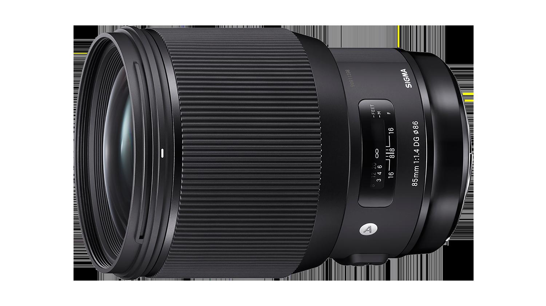 Sigma 85mm Art lens hire