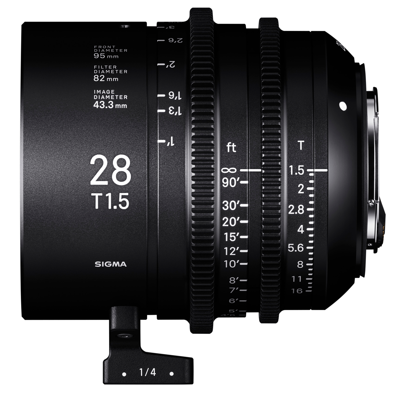 New Sigma CINE lenses announced
