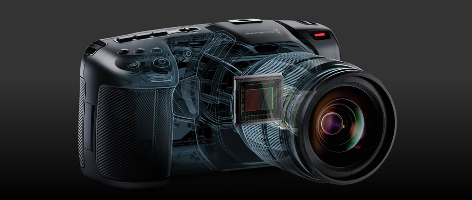 Blackmagic Pocket Cinema 4K hire