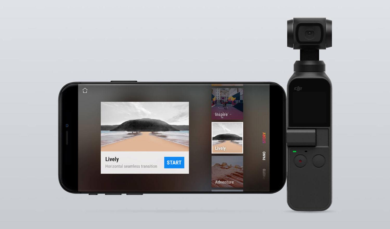 DJI Osmo Pocket camera