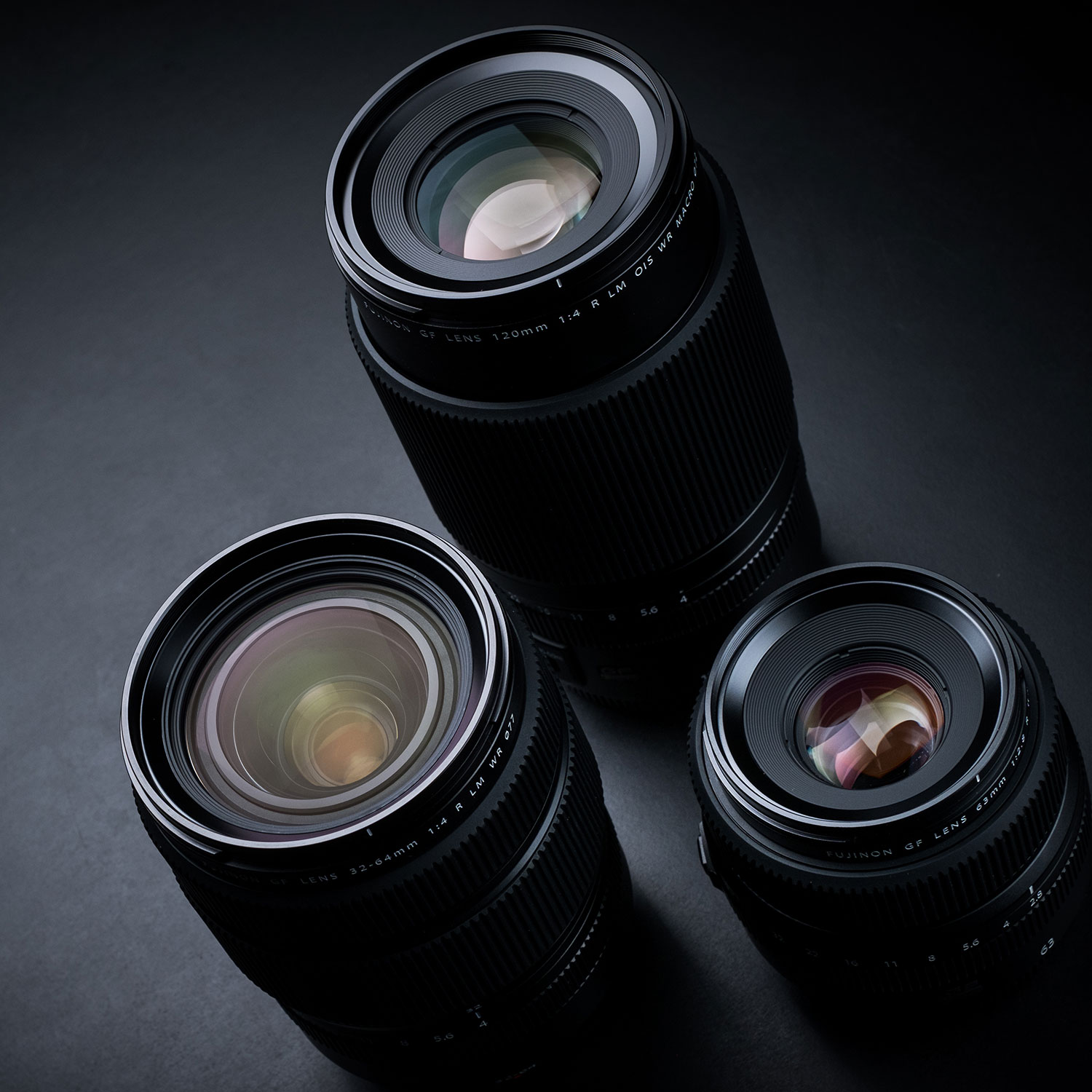 GF Lenses for hire