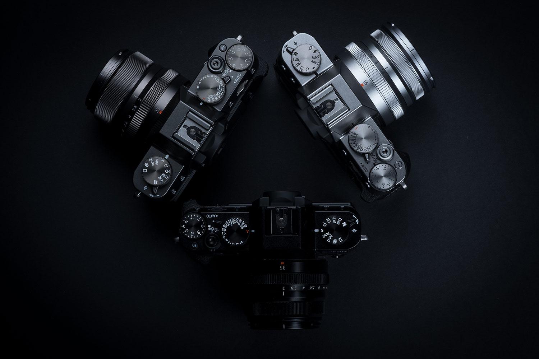 Fujifilm X-T30 buttons