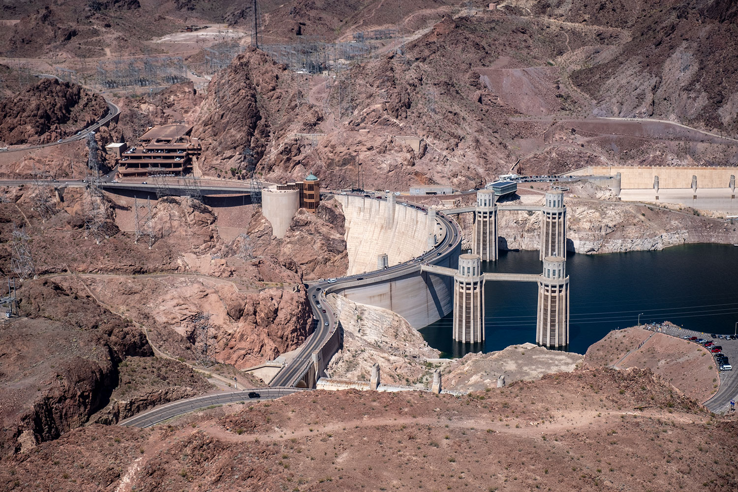 Helicopter trip Hoover Dam