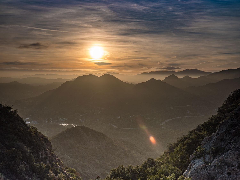 Malibu Creek State Park sunrise