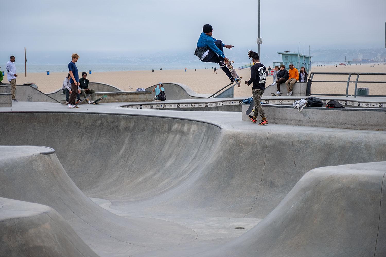 Venice Beach Skate Park with the X-H1