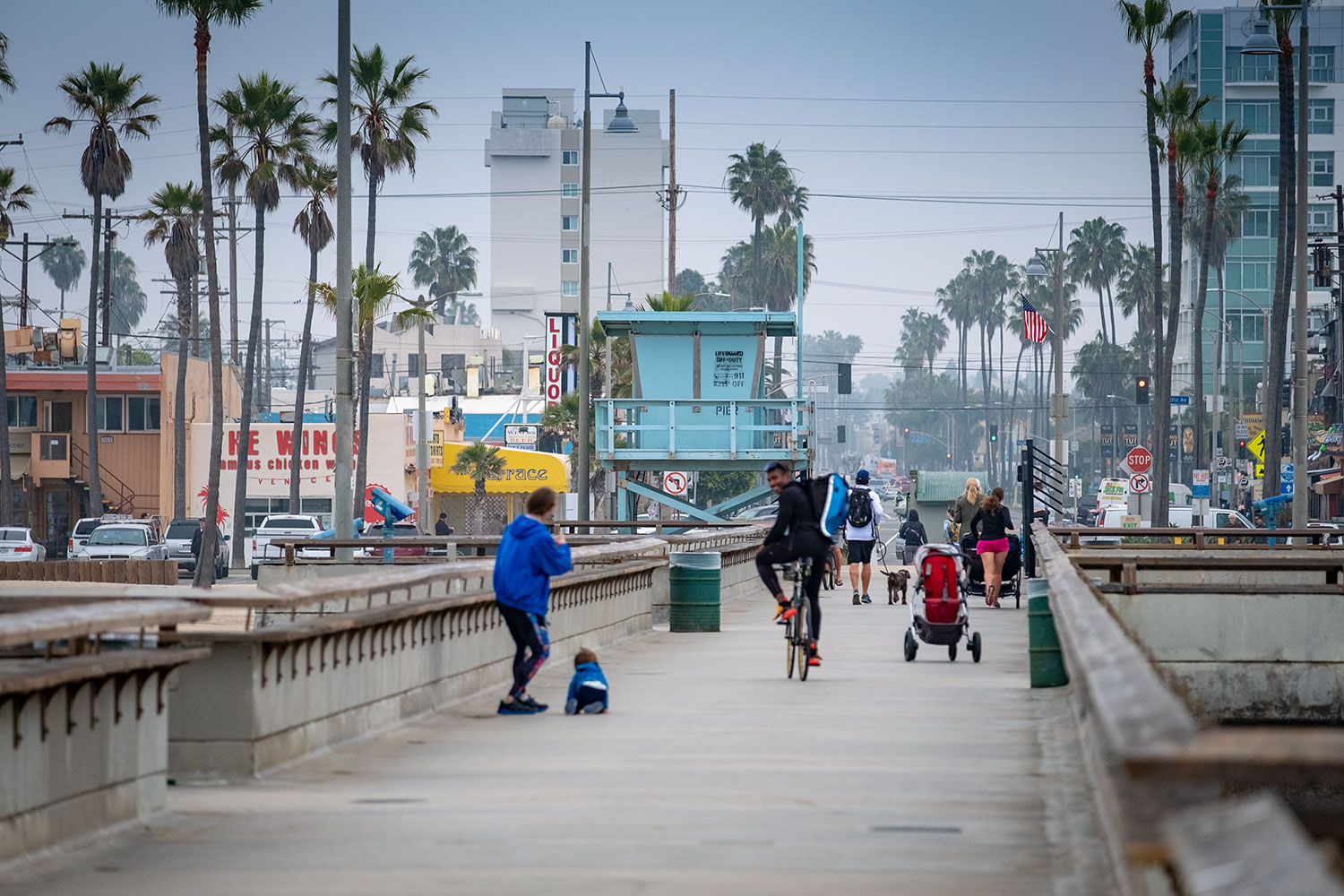 Venice Beach surfers with the X-H1