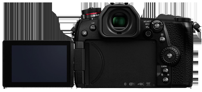 Panasonic G9 review screen