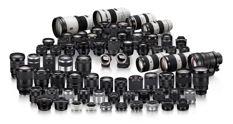 Sony lens hire UK