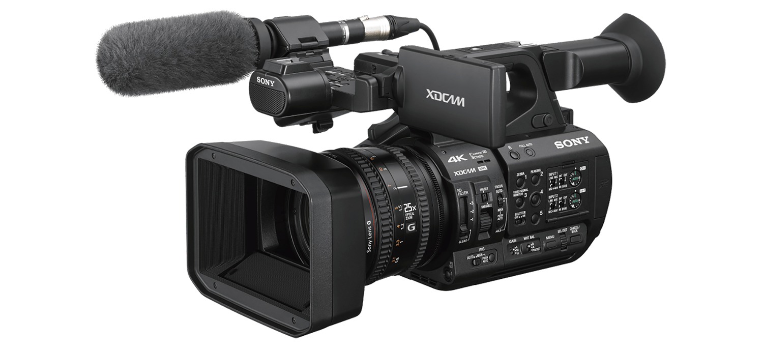 Sony Z190 camcorder hire