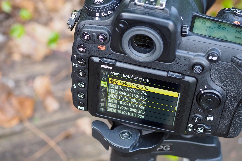 Nikon D500 4K