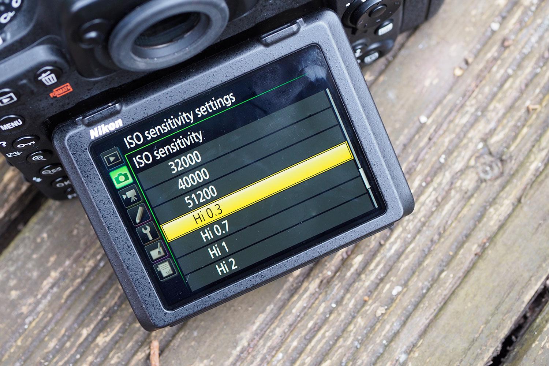 Nikon D500 high ISO