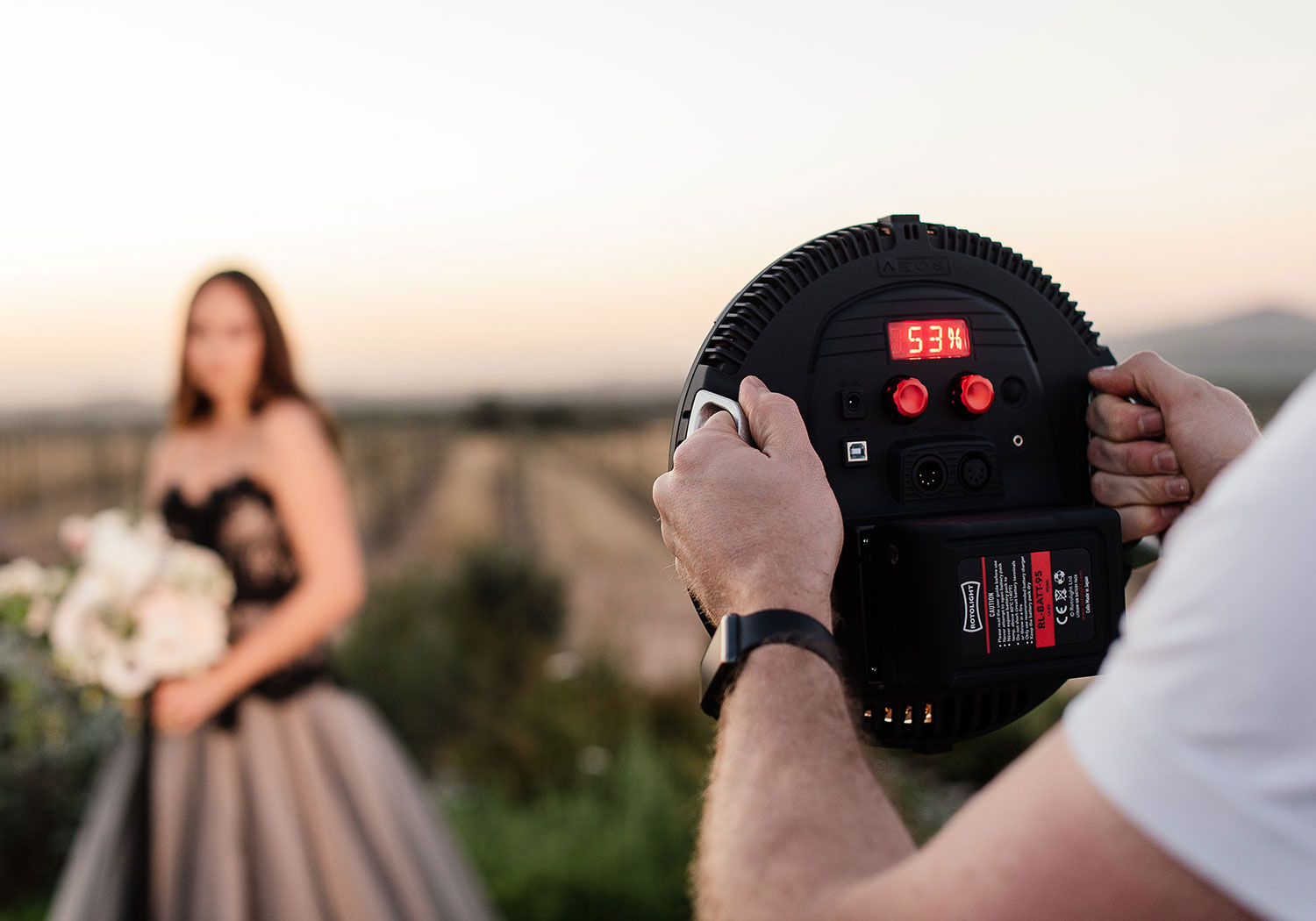 Rotolight AEOS hire