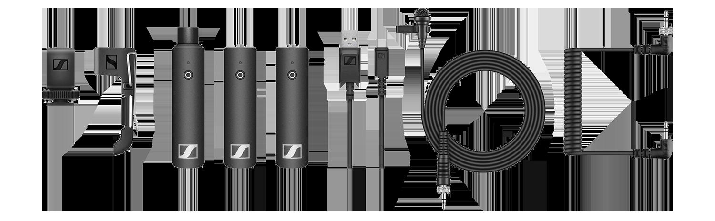 Sennheiser XS Lapel Kit hire