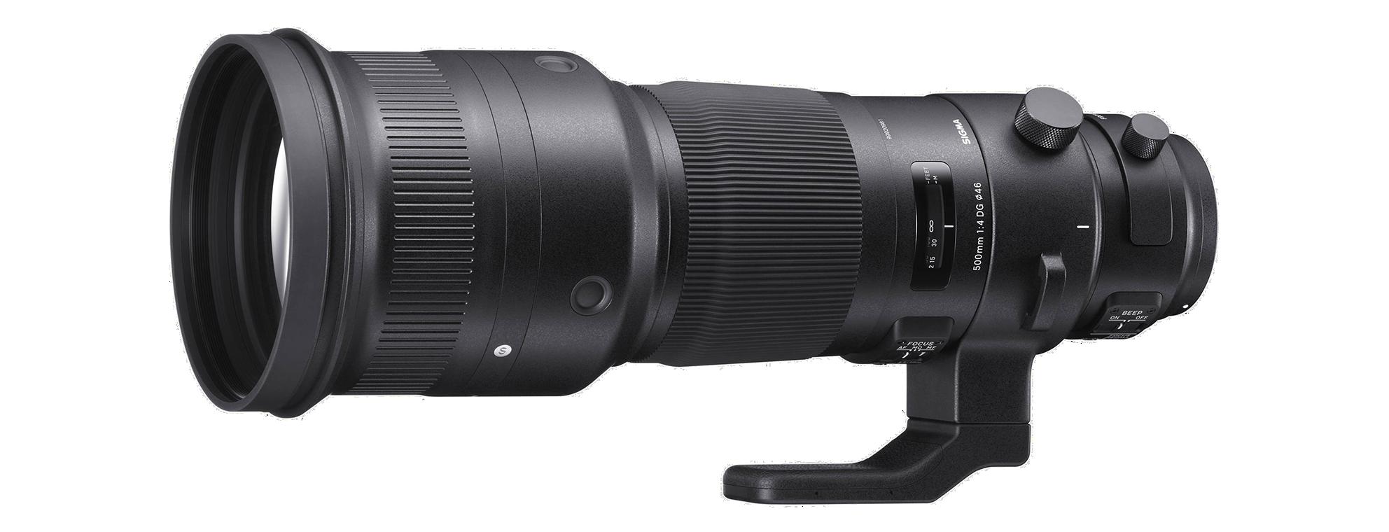 Sigma 500mm lens hire