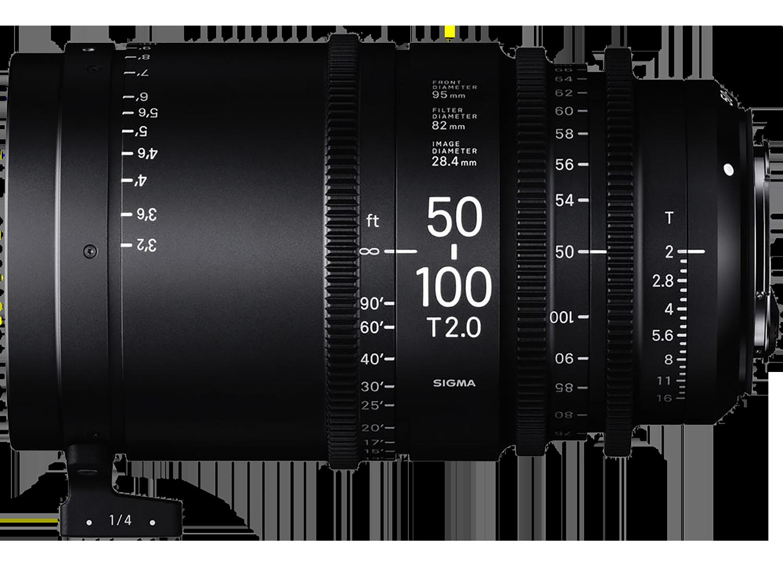 Sigma 50-100mm Cine Lens Hire