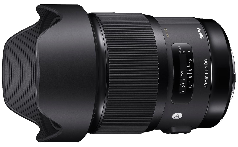 Sigma 20mm ART lens hire