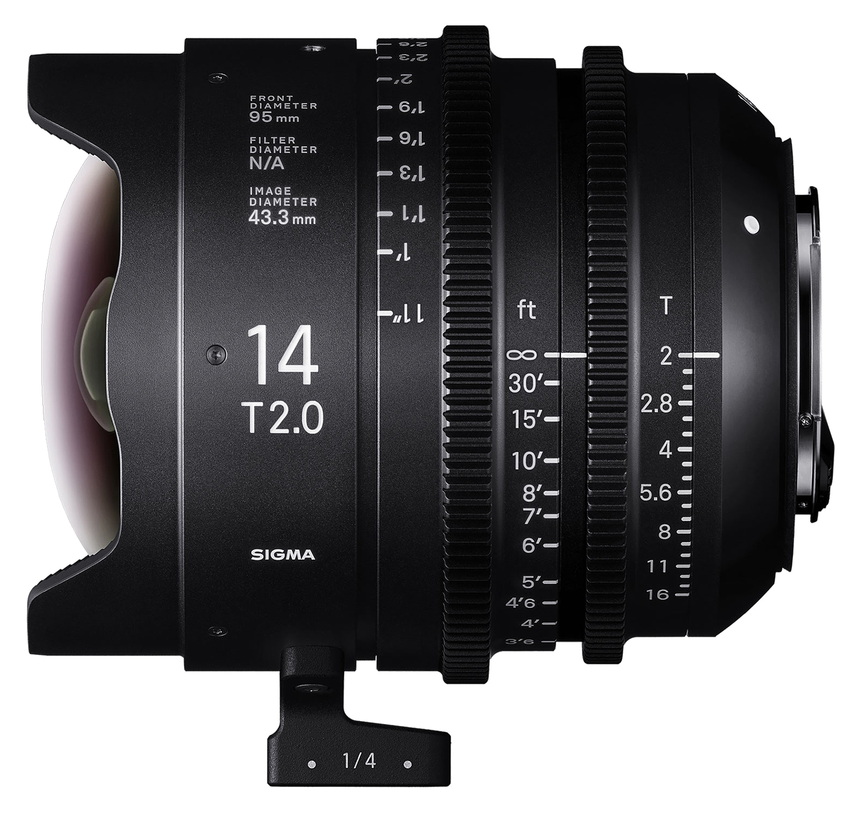 Sigma 14mm T2 hire