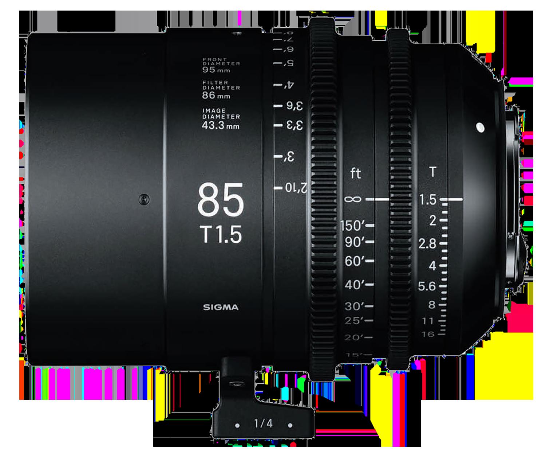 Sigma 85mm T1.5 hire