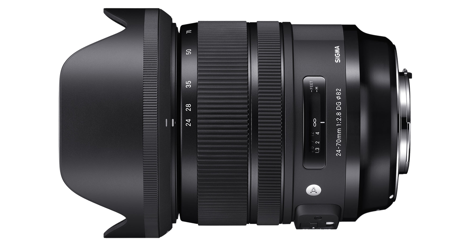 Sigma 24-70mm ART lens hire