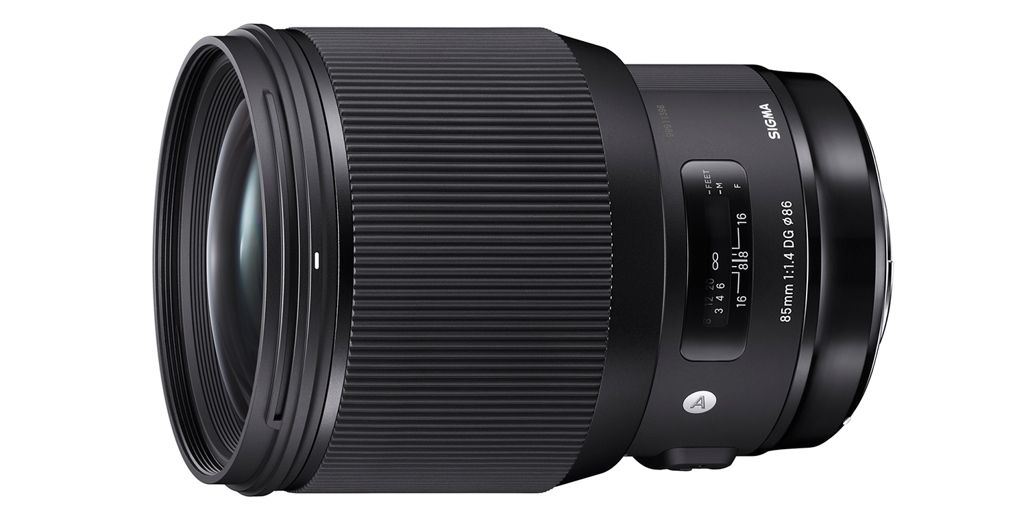 Sigma 85mm ART lens hire