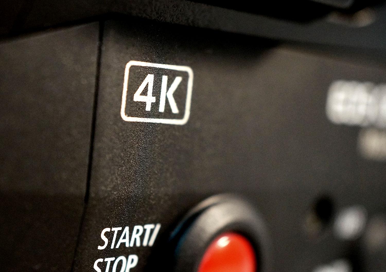 4K Camcorder hire