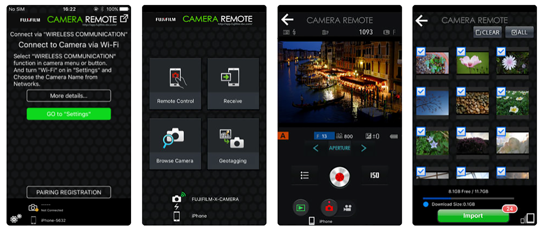 Fujifilm App