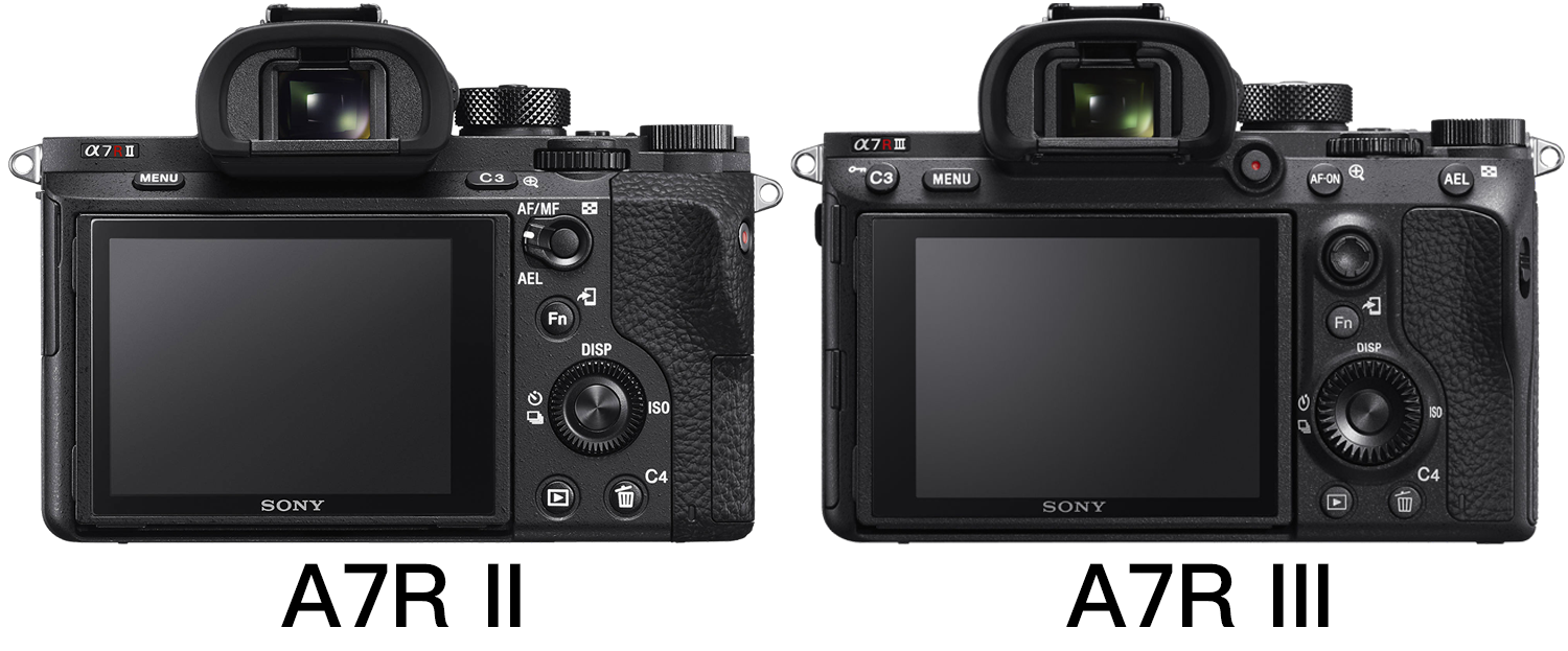 Sony a7r II vs a7r III review