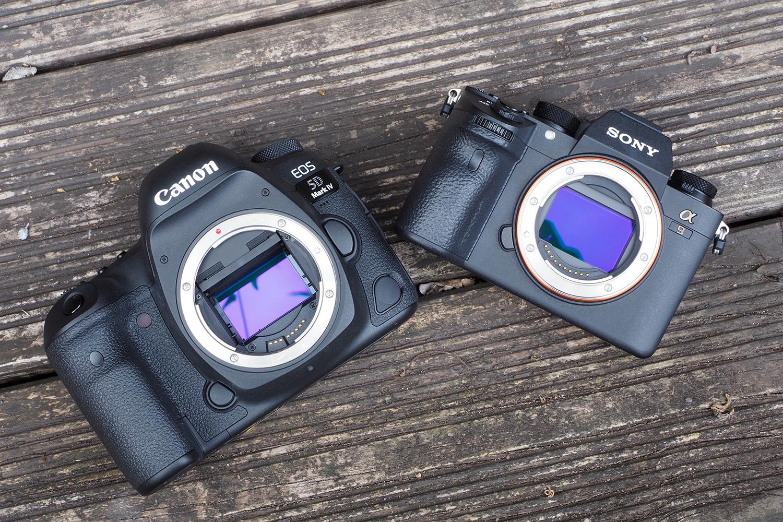 Canon 5D Mk 4 - Sony a9 Sensor
