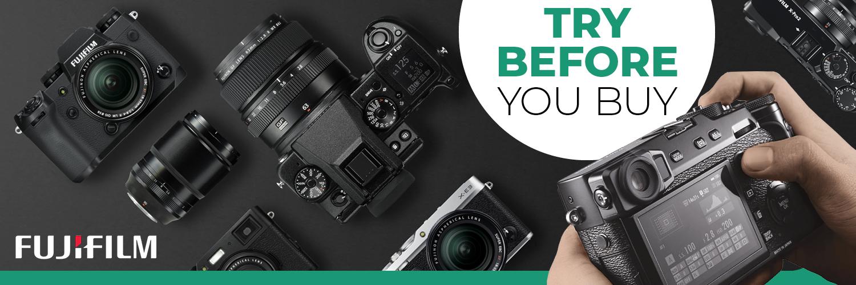 Fujifilm Try Before you Buy