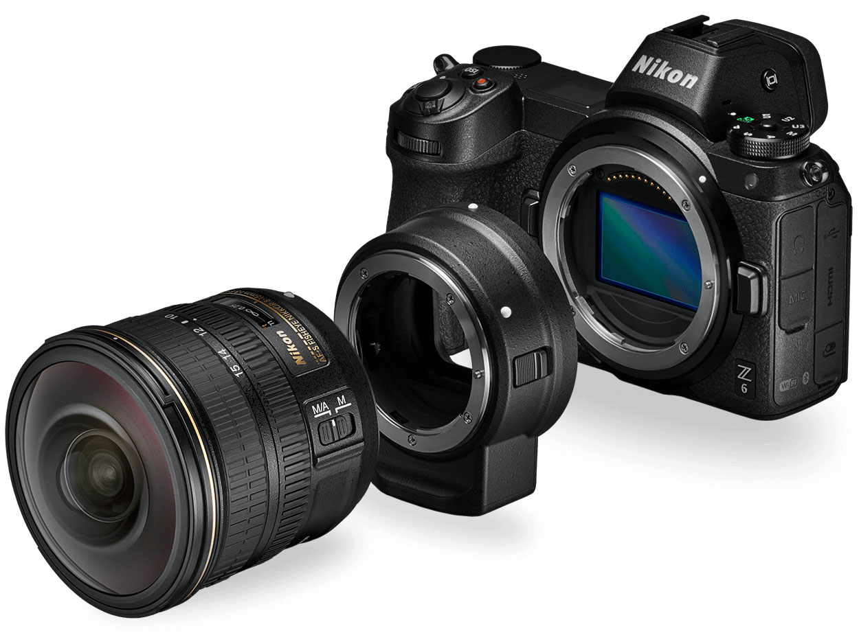 Nikon releases two full frame mirrorless cameras - Z6 and Z7