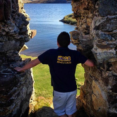 Haggis Tour Guide in Scotland