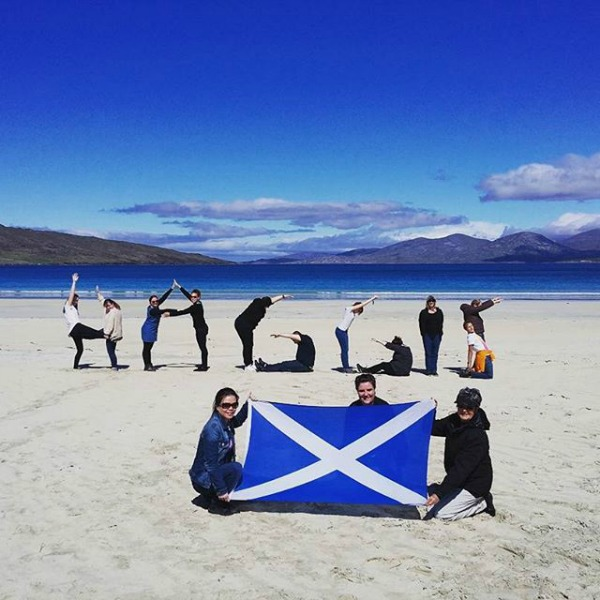 Multi Day Tour of Scotland Beach Photo