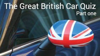 Union Jack painted on car wingmirror